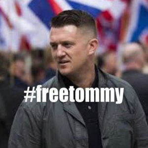 Tommy robinson news