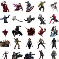 Marvy (Marvels) stickers